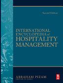 International Encyclopedia of Hospitality Management 2nd edition