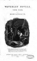 The Waverley Novels  Kenilworth  Pt  1 2  1832