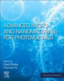 Advanced Micro- and Nanomaterials for Photovoltaics