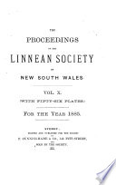 Proceedings of the Linnean Society of New South Wales