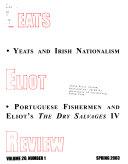 Yeats Eliot Review