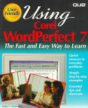 Using Corel WordPerfect Seven