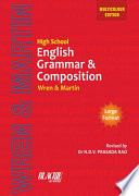 High School English Grammar and Composition Book (Multicolour Edition)