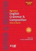 Pdf High School English Grammar and Composition Book (Multicolour Edition) Telecharger