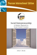Cover of Social Entrepreneurship