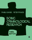Doing Criminological Research Pdf/ePub eBook