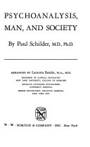 Psychoanalysis  Man  and Society