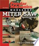 Miter Saw Fundamentals