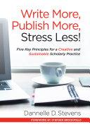Write More  Publish More  Stress Less