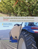 The Safe and Effective Use of Pesticides, 3rd Edition
