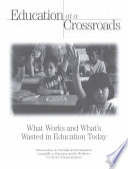 Education At A Crossroads PDF