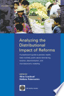 Analyzing the Distributional Impact of Reforms  2 Book
