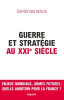 Pdf Guerre et stratégie au XXIe siècle Telecharger