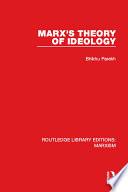 Marx s Theory of Ideology  RLE Marxism