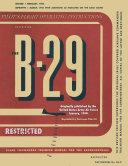 B 29 Bomber Pilot s Flight Operating Manual