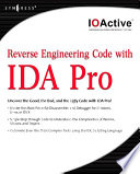 Reverse Engineering Code with IDA Pro