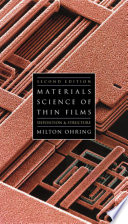 Materials Science of Thin Films Book