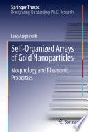 Self Organized Arrays of Gold Nanoparticles