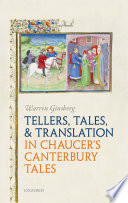 Tellers Tales And Translation In Chaucer S Canterbury Tales