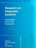Research on Integrated Systems Book PDF