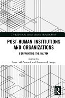 Pdf Post-Human Institutions and Organizations Telecharger