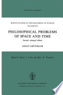 Philosophical Problems of Space and Time Book