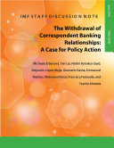 The Withdrawal of Correspondent Banking Relationships