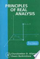 Principles of Real Analysis - Charalambos D  Aliprantis, Owen