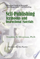 Self publishing Textbooks and Instructional Materials
