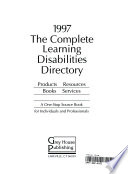 The Complete Directory for People with Learning Disabilities, 1997