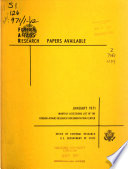 Foreign Affairs Research Papers Available Book