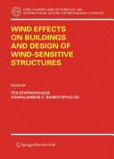 Wind Effects on Buildings and Design of Wind Sensitive Structures