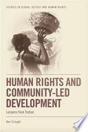 Human Rights and Community led Development