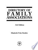 Directory of Family Associations