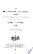 Public General Acts