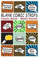 Comic Book: Blank Comic Strips