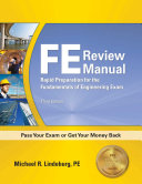 FE Review Manual  3rd Edition