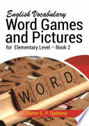 English Vocabulary Word Games & Pictures For Elementary Level Book 2