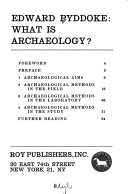 What Is Archaeology  Book