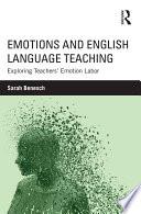 Emotions And English Language Teaching Book PDF