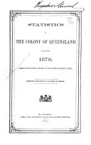 Statistics of the State of Queensland for the Year
