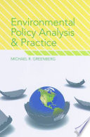 Book Cover: Environmental Policy Analysis and Practice