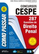 Como passar em concursos CESPE: direito penal