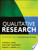 """Qualitative Research: An Introduction to Methods and Designs"" by Stephen D. Lapan, MaryLynn T. Quartaroli, Frances J. Riemer"