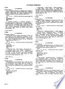 Monthly Catalogue, United States Public Documents