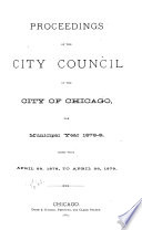 Journal Of The Proceedings Of The City Council