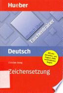 Zeichensetzung Deutsch Taschentrainer, Christian Stang, 2006