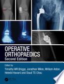 Operative Orthopaedics Book