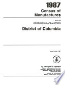 1987 Census Of Manufactures
