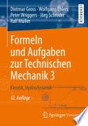 Formeln und Aufgaben zur technischen Mechanik/3